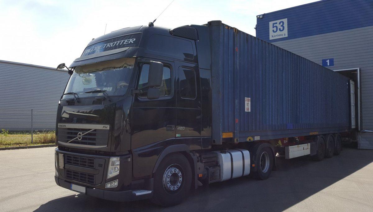 Tarptautiniai konteinerių gabenimai